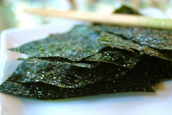 Roasted, Seasoned Seaweed from Being Blue Company at Costco