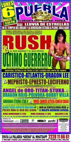 CMLL Puebla Preview: Rerun