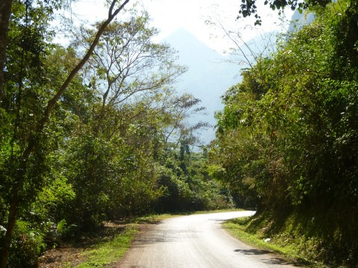 The Road to the Caves of Nong Khiaw
