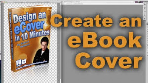 Create a cover for your e-book to help it get noticed by potential buyers.