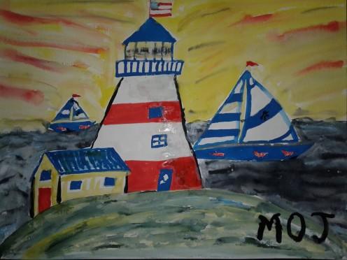 The Lighthouse/ Symbolic of Life
