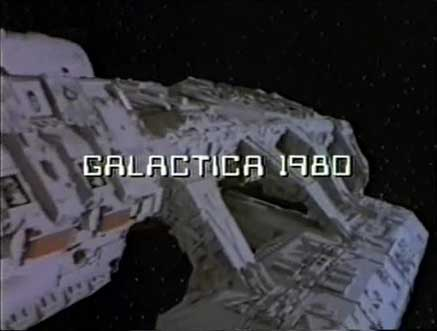 Galactica 1980, a short lived series that lasted long enough to fight the Nazis.