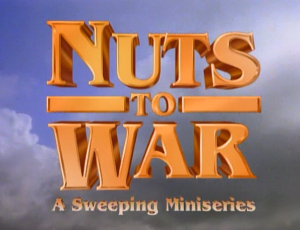 Dinosaurs two part episode, Nuts to War, involved Robbie joining the army to fight in a war against the 4 legged dinosaurs.