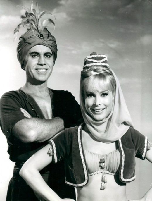 Jeannie once took Tony back to the time of the Arabian Knights.