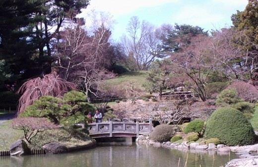Japanese Garden at Brooklyn Botanical Garden