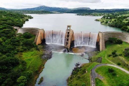 Wagendrift Dam, Wagendrift Nature Reserve, Estcourt, KZN, South Africa