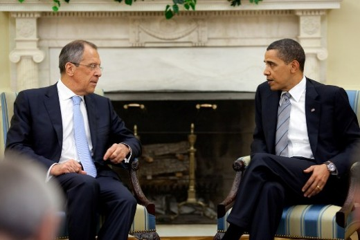 Russian Minister with Barack Obhama in the Whitehoue May 2009. Can they change anything?