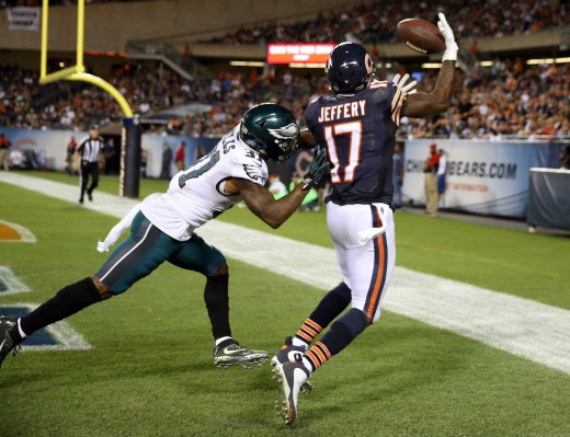 Free Agent WR Alshon Jeffery is Probably out of the Eagles' price range