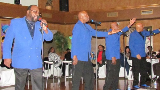 The Blue Notes featuring Sugar Bear was the headliner for the evening as they performed numerous legendary tunes.