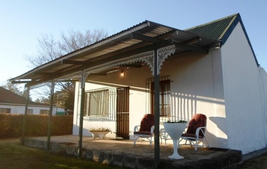 Our accommodation at Van Reenen, KZN, South Africa