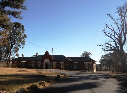 Old railway station, Van Reenen, KZN, South Africa