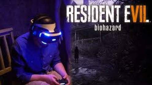 Resident Evil 7 Biohazard can be played in normal mode on the PS4 or in PSVR mode.