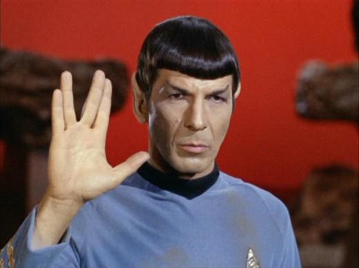 Spock of Vulcan...