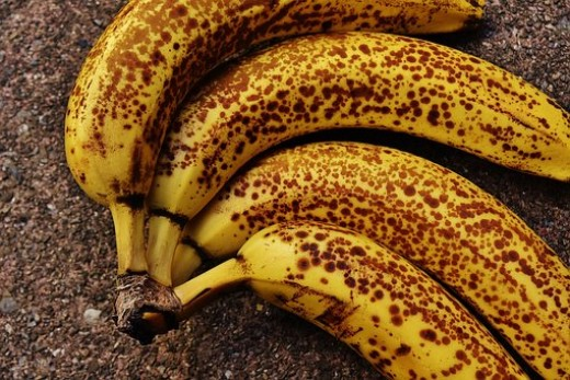 Using overripe bananas in your recipes will always enhance the flavour.
