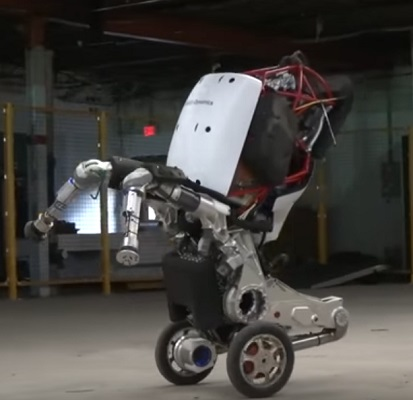 "Boston Dynamics newest ""Handle"" robot - it can jump, stand, and perform multiple tasks"