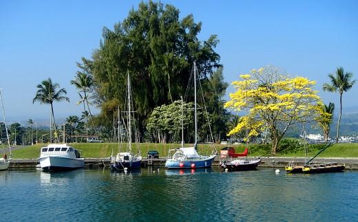 Boat dock near Suisan Fish Market.