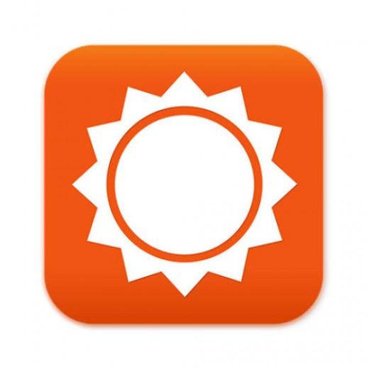 Accuweather app logo