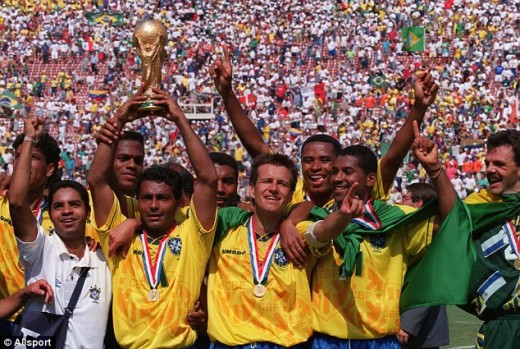 Brazil won the World Cup in 1994