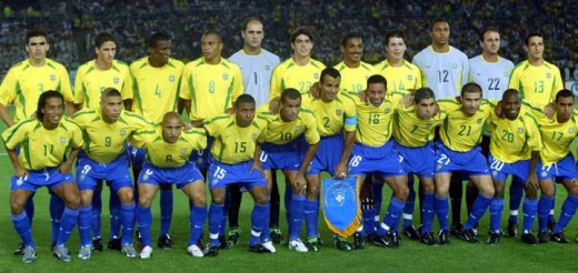 Brazil 2002 World Cup Squad