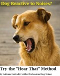 "Dog Reactive to Noises? Try the ""Hear That"" Method."