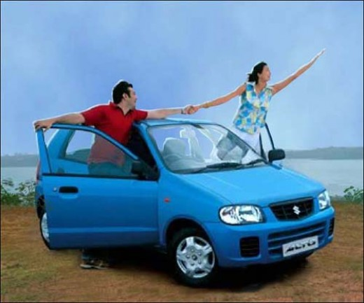 Maruti Alto economical car for middle class people for all your travel needs in the city and on highway