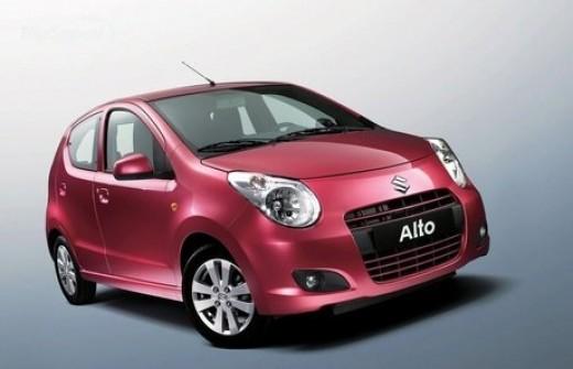New eco friendly Alto car