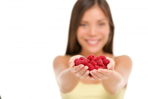 Raspberries have many health benefits.