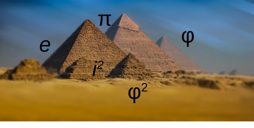 The pyramids of Giza are full with mathematical relations while Egyptologists keep persistently denying that fact.