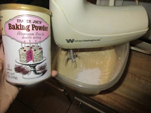 Trader Joe's Baking Powder Preferred
