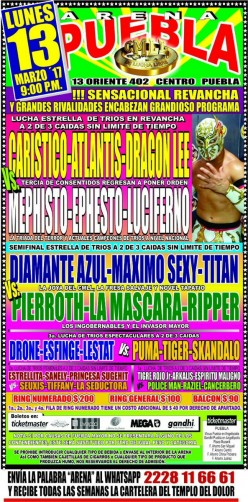 CMLL Puebla Preview: Daylight Saving's Show