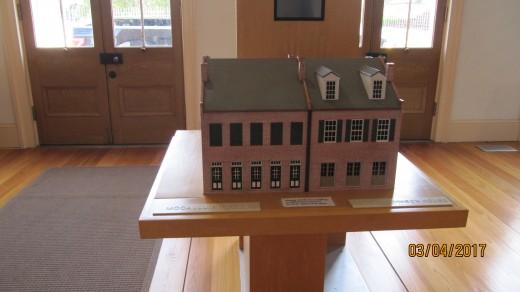 William Johnson Home Model- Natchez, MS