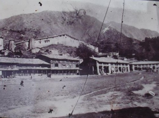Chamba in 1860 AD
