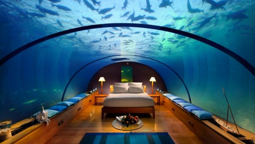 The best underwater hotels