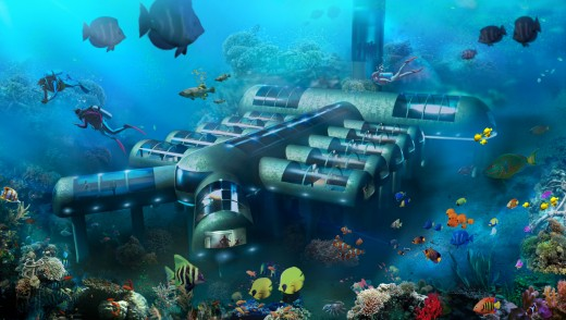World's first fully self-contained affordable mini-luxury underwater hotel. Now being offered to resort properties around Planet Ocean.