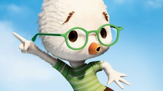 Origin of chicken little