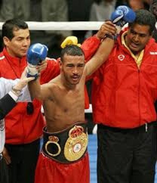 Alexander Munoz  is a two-time junior bantamweight champion of the world.