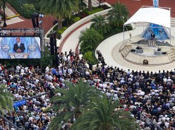 Scientology Leaders Court Clearwater City Council Privately in Church Headquarters