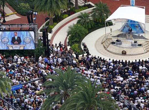 Star Studded Dedication of Scientology Headquarters