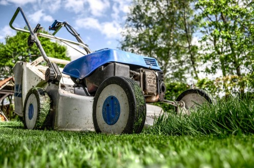 Mowing lawns poses several dangers.
