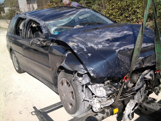 The car Josh Jackson kicked.