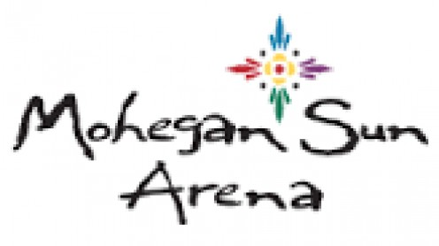 The Mohegan Sun Arena is 30,000 square feet and it opened for public use in 2001.