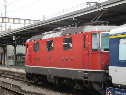 Re4/4 II CFF, Cornavin Station, Geneva