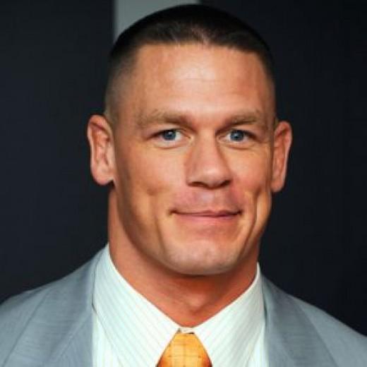 John Cena - Professional wrestler, actor.