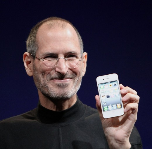 Steve Jobs -- Famous orphan and visionary.