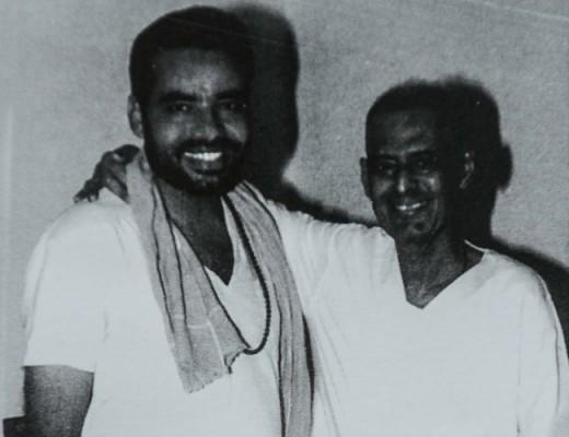 Narendra Modi (left) & Lakshmanrao Inamdar