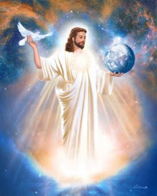 Christ is my saviour, the lord is my light.