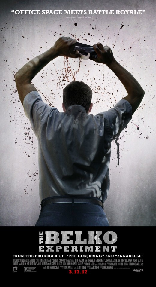 The Belko Experiment theatrical poster