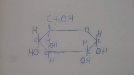 Glucose is a carbohydrate.