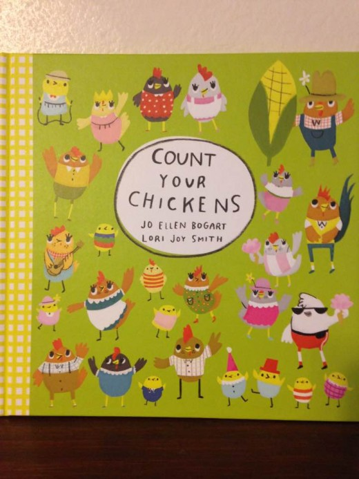Colorful counting book engages young children in math skills while reading.