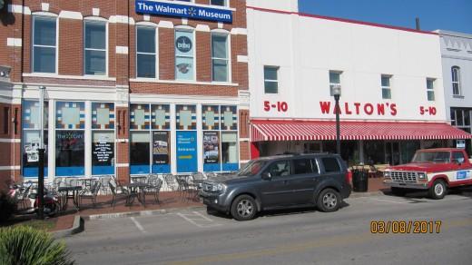 Walmart Museum, Bentonville, AR